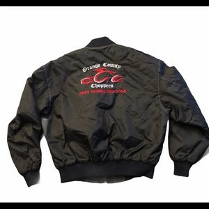 Orange County Choppers Quilted Full Zip Coat